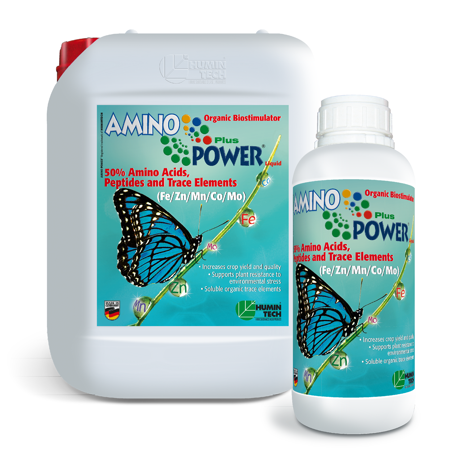 AMINO POWER Plus Liquid Organic Micronutrient 50% Amino Acids, Peptides and Micronutrients