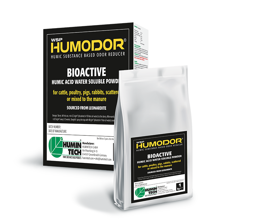 HUMINTECH Humodor WSP Humic Substance Based Odor Reducer