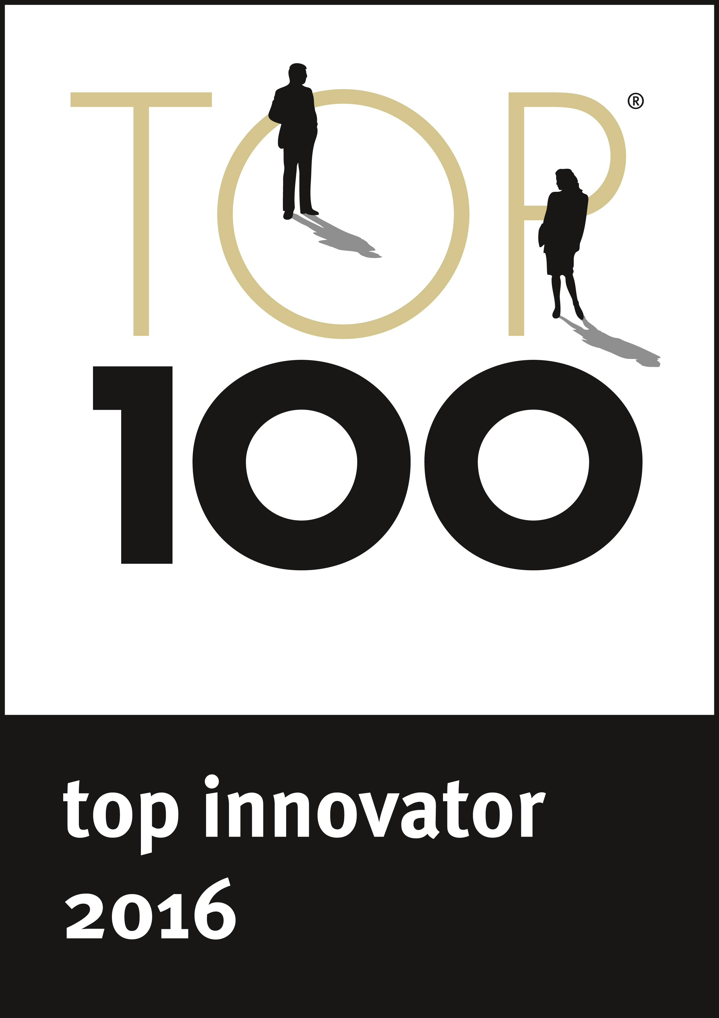 top 100 innovator 2016 award for humintech company