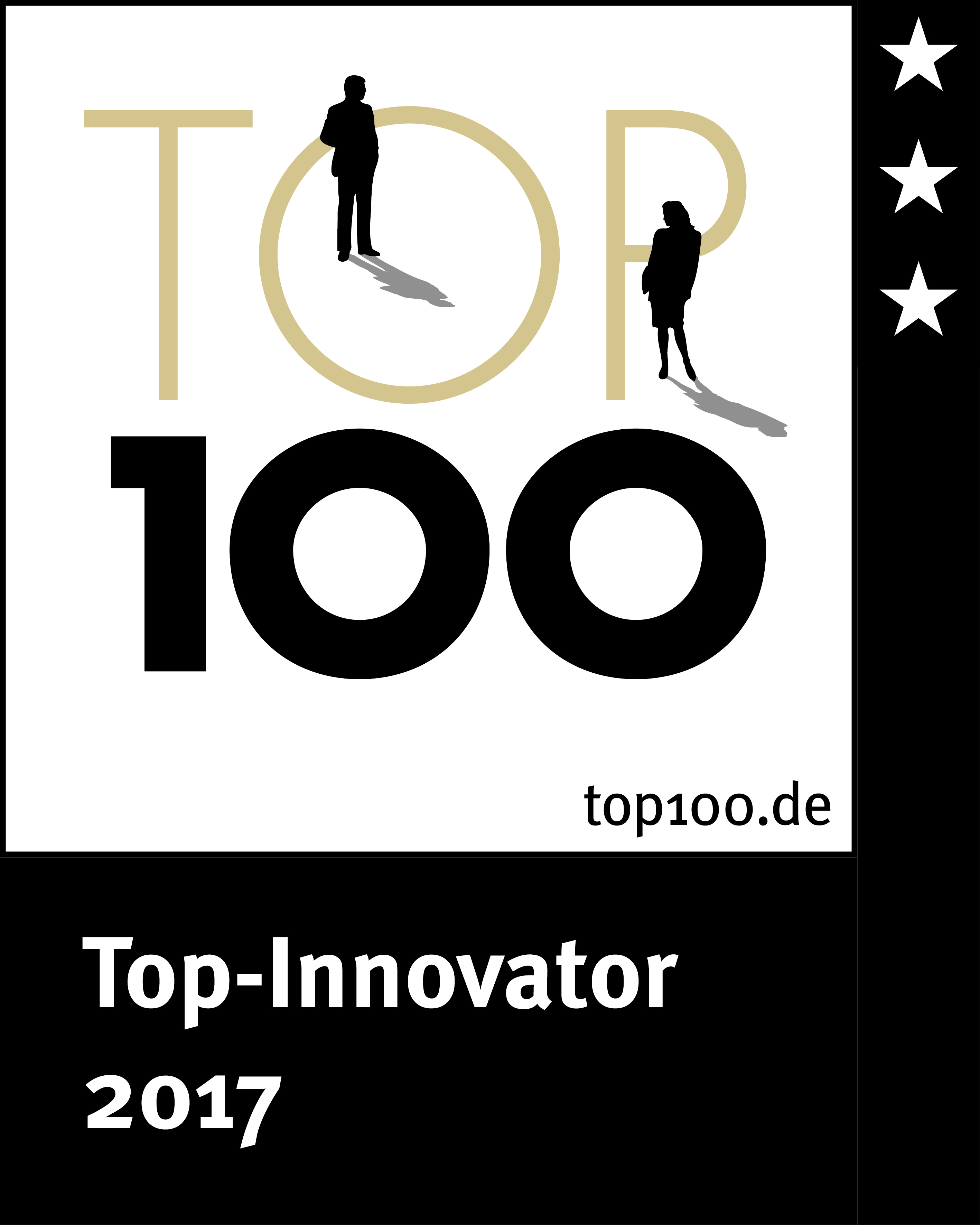 top 100 innovator 2017 award for humintech company