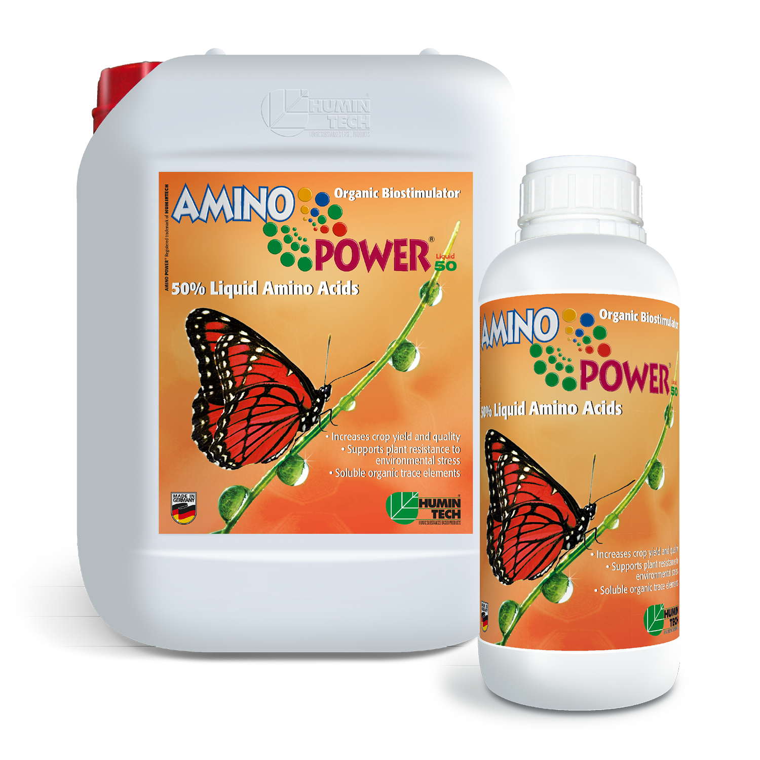 AMINO POWER Plus Liquid 50 Organic Biostimulator 50% Liquid Amino Acids