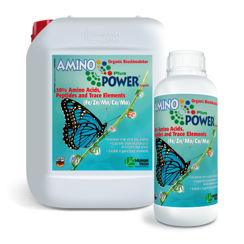 AMINO POWER Plus Liquid Organic Micronutrient 50% Amino Acids, Peptides and Micronutrients 2