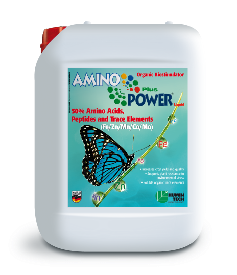 AMINO POWER Plus Liquid Organic Micronutrient 50% Amino Acids, Peptides and Micronutrients canister