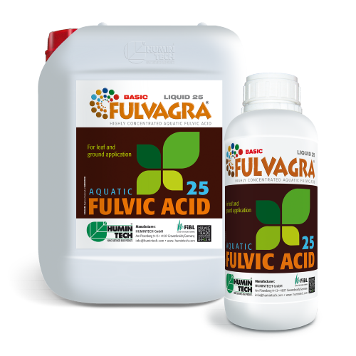 FULVAGRA 25 Liquid Highly Bioactive Growth Promoting Highly Concentrated Aquatic Fulvic Acid