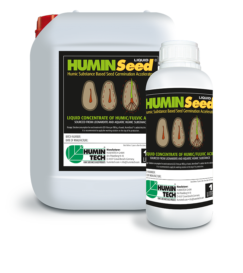HUMINSEED Liquid Humic Based Seed Germination Accelerator