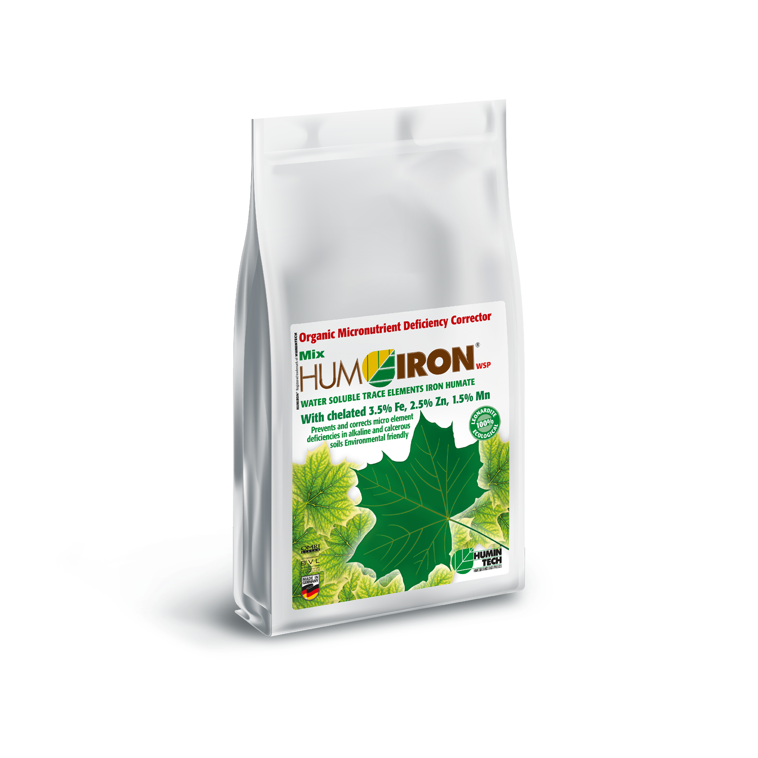 HUMIRON Mix WSP Organic Micronutrient Deficiency Corrector Water Soluble Trace Elements Humate bag