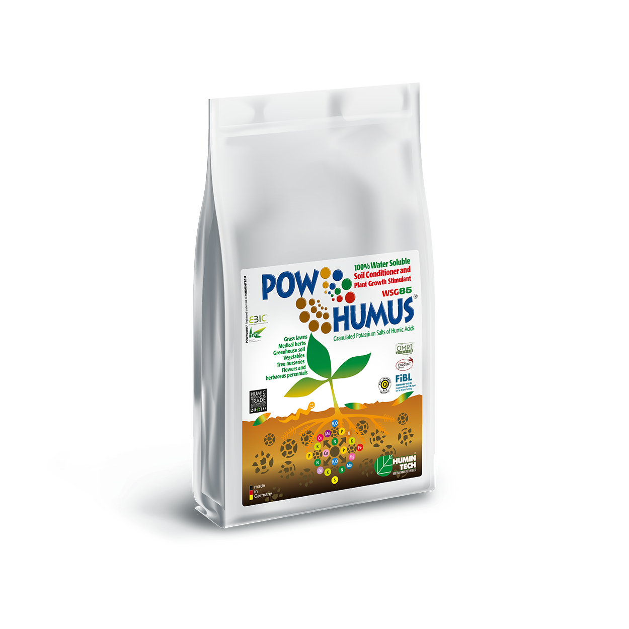 POWHUMUS WSG 85 100% Organic Soil Conditioner bag