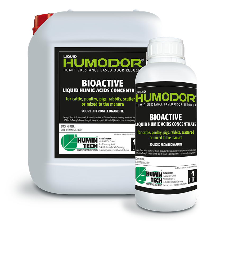 HUMINTECH Humodor Liquid 18 Humic Substance Based Odor Reducer